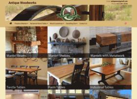 antiquewoodworks.com