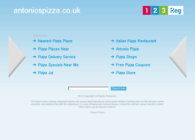 antoniospizza.co.uk