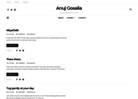 anujgosalia.com