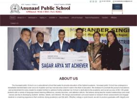 anunaadpublicschool.com