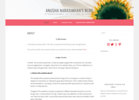 anushanarasimhan.com