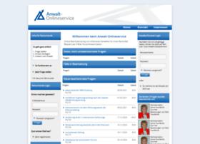 anwalt-onlineservice.de