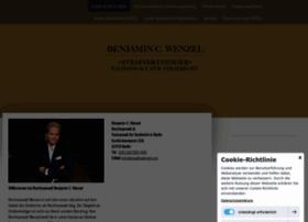 anwalt-wenzel.com
