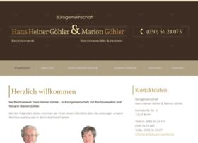 anwaltsbuero-goehler.de