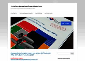 anwaltssoftware-forum.de