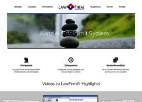 anwaltssoftware-lawfirm.de