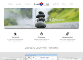 anwaltssoftware.kanzleirechner.de