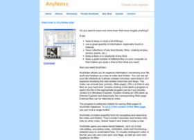 anynotes.com