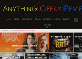 anythinggeekyreviewed.com
