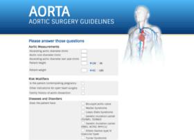 aorticsurgeryguidelines.com
