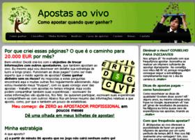 aovivoapostas.com