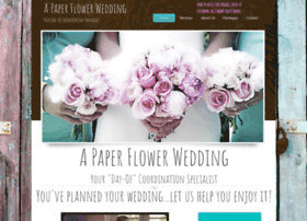 apaperflowerwedding.com