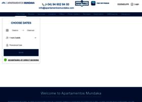 apartamentosmundaka.com