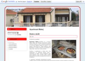 apartmani-matej.com