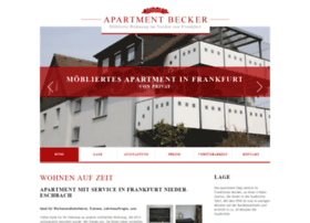 apartment-becker.de