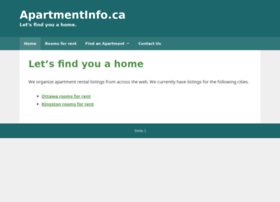 apartmentinfo.ca