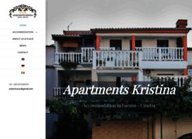 apartments-kristina-fazana.com