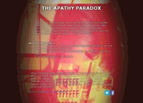 apathyparadox.nl