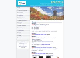 apcc2015.ieice.org