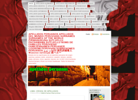 apellidosperuanos.wordpress.com