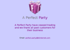 aperfectparty.co.uk