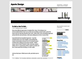 apertedesign.com