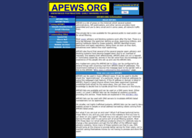 apews.org