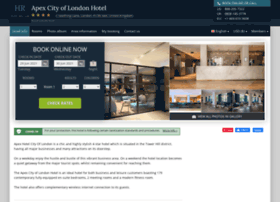 apex-city-of-london.hotel-rez.com