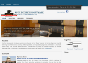 apexdecisionssoftware.com