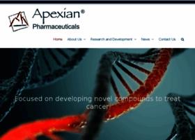 apexianpharma.com