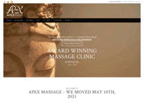 apexmassage.com