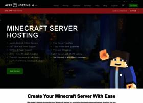 apexminecrafthosting.com
