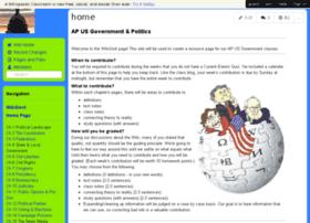 apgovt.wikispaces.com