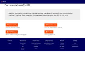 api.archives-ouvertes.fr