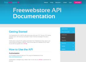 api.freewebstore.org
