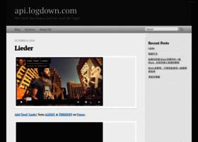 api.logdown.com