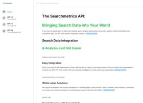 api.searchmetrics.com