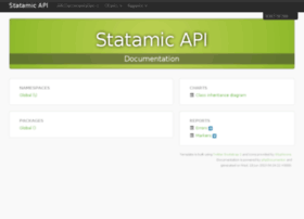 api.statamic.com