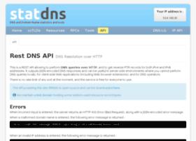 api.statdns.com
