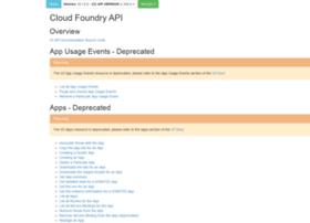 apidocs.cloudfoundry.org