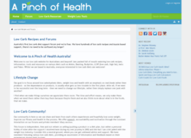 apinchofhealth.com