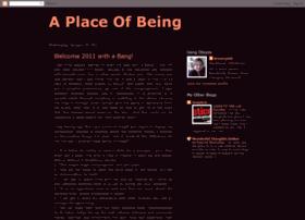 aplaceofbeing.blogspot.com