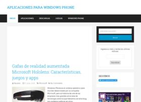 aplicacionesparawindowsphone.com