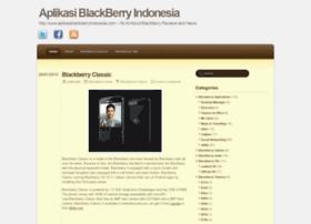 aplikasiblackberryindonesia.wordpress.com