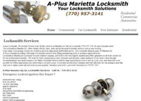 aplusmariettalocksmith.com