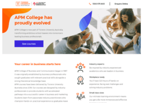 Apm.edu.au