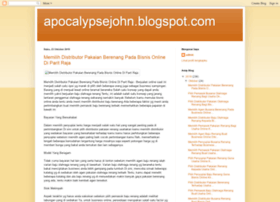 apocalypsejohn.blogspot.com
