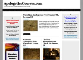 apologeticscourses.com