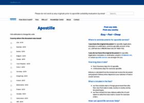 apostille.info