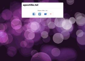 apostille.tel